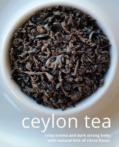 #Ceylon black #tea is a wonderful dark full-bodied tea. This tea mixes very well with other strong flavored ingredients and is wonderful on it's own. The #benefits include #boosting #metabolism, #anti-inflammatory, and rich in #antioxidants. #Blendbee