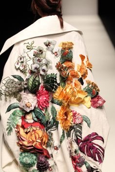 "fleurilie: ""Floral details at Nguyen Cong Tri Nº10 """