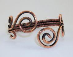 Gustowne ornamenty wire wrapping  http://oryginalna-bizuteria.pl/opis/2555516/zjawiskowa-bransoleta-wire-wrapping.html