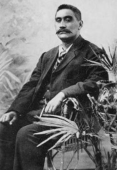 Mahuta Tāwhiao, third Māori king, crowned in 1894 Home History, Family History, Maori Words, Maori People, The Pleiades, The Descent, Free Family Tree, Maori Art, King And Country