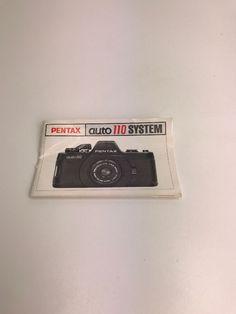 ASAHI PENTAX AUTO 110 SYSTEM INSTRUCTION MANUAL Camera #PENTAX Manual, Shop, Ebay, Store