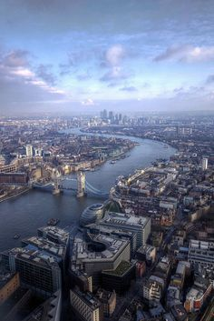 view from shard, london by mariusz kluzniak, via Flickr