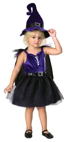 Rubies Kids Childrens Storytime Witch Costume Fancy Dress Up Party - Toddler Size - Rubies Toddler Witch Costumes, Girl Costumes, Costume Shop, Costume Dress, Halloween Party, Halloween Costumes, Fancy Dress Up, Kids Shop, Superhero