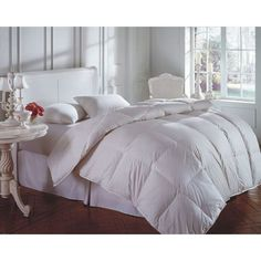 Cascada White King 104x86 58oz Comforter - (In No Image Available)