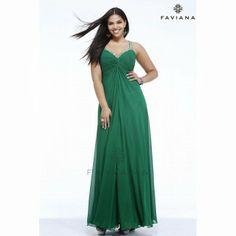 Faviana 9333 - Emerald Chiffon Plus Size Prom Dresses Online Best Evening Dresses, Best Prom Dresses, Evening Dresses Plus Size, Prom Dresses Online, Homecoming Dresses, Party Dresses, Dress Online, Occasion Dresses, Evening Gowns