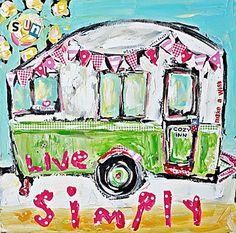 Paintings by Tricia Robinson Art Journal Inspiration, Painting Inspiration, Creative Inspiration, Karla Gerard, Primitive Painting, Decoupage, Art Auction, Auction Ideas, Mini Canvas Art