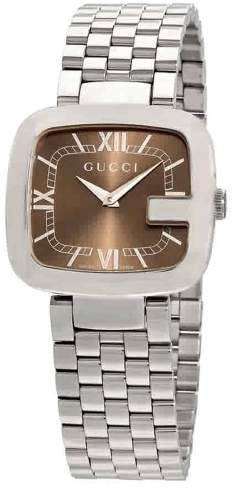 35ad112dd31 Gucci G-Gucci Brown Dial Ladies Watch · Stainless Steel ...
