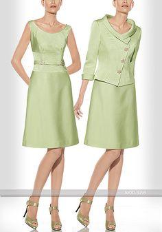 Vestido de madrina corto de Teresa Ripoll modelo 3295