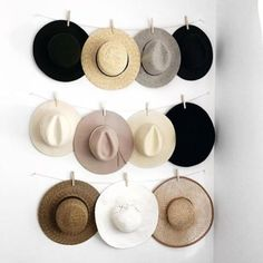 27 Unique and Cool Hat Rack Ideas, Check It Out!