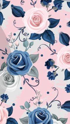 63 Ideas For Wallpaper Iphone Vintage Prints Pink Roses Cute Wallpaper Backgrounds, Print Wallpaper, Trendy Wallpaper, Wallpaper Iphone Cute, Cellphone Wallpaper, Cute Wallpapers, Iphone Backgrounds, Floral Pattern Wallpaper, Flower Wallpaper