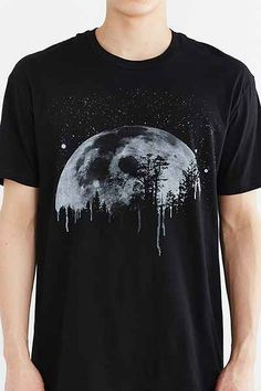 Curbside Moon Tee - Urban Outfitters