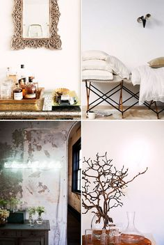 Romantic Room Styling. / sfgirlbybay