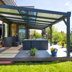 Modern Aluminum Pergola Waterproof Pergola Canopy Outdoor Pergola - Buy Modern A. Outdoor Decor, Deck With Pergola, Aluminum Pergola, Backyard Landscaping Designs, Modern Garden