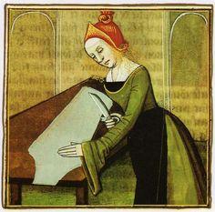 femme tailleur Boccace - XV
