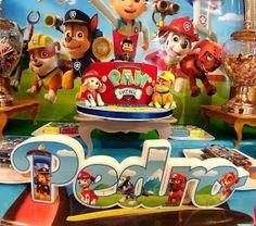 Ideas para decorar Fiesta de PAW Patrol Cake, Ideas, Food, Paw Patrol Party, Parties Kids, Invitations, Kuchen, Essen, Meals
