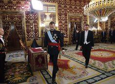 El Rey Felipe VI recibe las cartas credenciales del embajador de Ucrania, Anatoliy Scherba.  08-09-2016