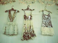 sequins, glitter, ruffles, and chiffon. i see hoilday <3