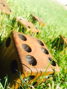 Yardzee - Yard Yahtzee  - Yard Dice - Dice - Lawn Game - Wedding Game - Reception Game - Outdoor Games - Yard Game - Yahtzee - Gift by Maydby on Etsy https://www.etsy.com/listing/278285990/yardzee-yard-yahtzee-yard-dice-dice-lawn