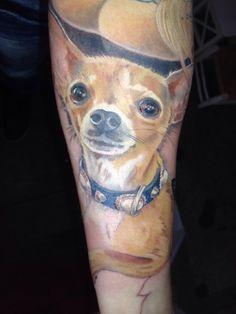 #chihuahua #arm #tattoo