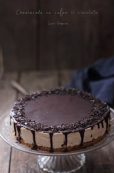 Easy Desserts, Delicious Desserts, My Recipes, Cake Recipes, Romanian Food, Something Sweet, Chocolate, Cheesecakes, Frosting