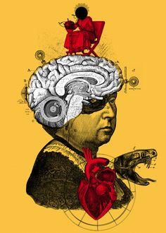 """La Desmesura"" n°2 by Alvaro Sanchez (2012) ::: #Art #Illustration #Drawing"