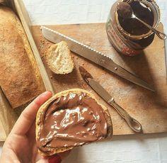 Imagem de chocolate, food, and nutella