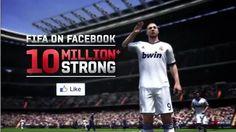 fifa on facebook 10 million strong #EA