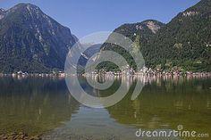 #View To #Hallstatt In #Salzkammergut @dreamstime #dreamstime @Salzkammergut @iSalzkammergut #nature #landscape #lake #travel #sightseeing #austria #summer #season #holidays #vacation #mountains #stock #photo #portfolio #download #hires