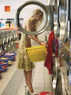 Glamorous laundry #fashion #editorial