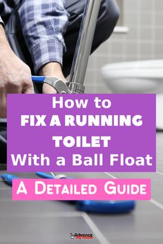 How to Fix a Running Toilet With a Ball Float: A Detailed Guide - Home Maintenance Home Maintenance Checklist, Bidet Toilet Seat, Dual Flush Toilet, Task To Do, Interior Decorating Styles, Home Repairs, Improve Yourself, Fill