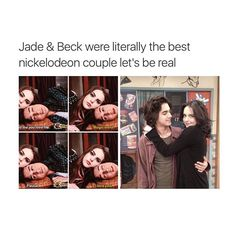 I want a relationship like Jade and Beck.