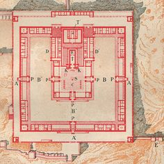 Third Temple Floor Plan, Temple of Ezequiel Floor Plan, Jerusalem
