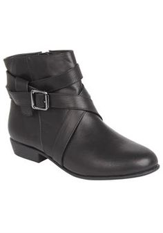 Vita Bootie by Comfortview® | Plus Size Boots | Woman Within