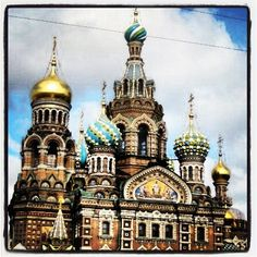 Church of Christ on Spilled Blood in St. Petersburg, Russia