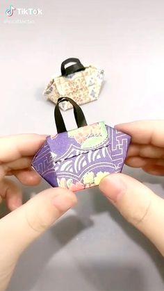 Diy Crafts For Girls, Diy Crafts To Do, Diy Crafts Hacks, Creative Crafts, Instruções Origami, Origami Videos, Origami And Kirigami, Cool Paper Crafts, Paper Crafts Origami