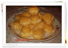 Sajtkrémes szakállas pogácsa Snack Recipes, Snacks, Hungarian Recipes, Scones, Breads, Chips, Food, Snack Mix Recipes, Bread Rolls