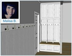 I need this because I'm tired of picking up my kids crap that they drop when they walk in the door!  Mudroom Locker Storage Project (Part 1)