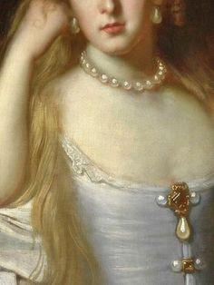 Portrait de femme (Détail) John Michael Wright