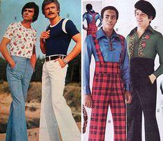 Забыть, развидеть, не смеяться...Мужская мода 70-х: ochendaje