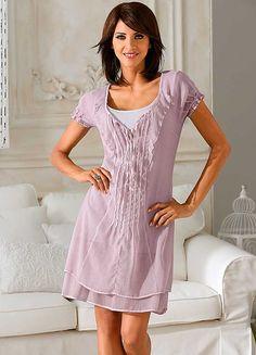 Linea Tesini Chiffon Dress