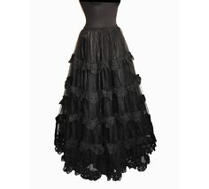 Petticoat long victorian burlesque steampunk by SomniaRomantica, $159.00