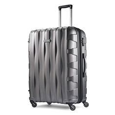 With industry-leading standards and an eye-catching design, this Samsonite Ziplite Hardside Spinner Luggage is a top choice for your travel needs. Luggage Sale, Luggage Trolley, Trolley Bags, Carry On Luggage, Hardside Spinner Luggage, Checked Luggage, Creative Industries, Leather Purses, Suitcase