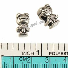 Zinc Alloy Human Large Hole Beads,Girl,Plated,Cadmium And Lead Free,Various Color For Choice,Approx 10*9.5mm,Hole:Approx 4.5mm,Sold By Bags,No 010150