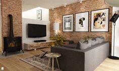 Salon styl Eklektyczny - zdjęcie od Grafika i Projekt architektura wnętrz…