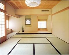 Take a cue from the experts of small living during this smallest coolest apartment month. Tatami mats are like a building block of Japanese domestic interiors. Their dimensions (roughly a 2:1 proportion) drive the size, proportion, and layout of space in traditional residential Japanese architecture.   The mats are aromatic, resilient, and add warmth underfoot. Some places to look:  a tatami mat conversion calculator Tatami Room Chopa