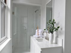 small white bathroom