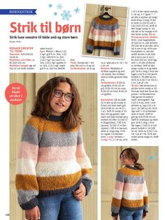 Knitting Patterns Free, Free Knitting, Knitting For Kids, Drops Design, Chrochet, Diy Projects To Try, Diy Crochet, Baby Kids, Diy Crafts