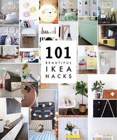 We've done heaps of posts on IKEA hacks throughout our ten years of blogging; a few we've created ourselves and others, round-ups of favorites we've found online.  We've gathered a few of those posts and lists from years past (that have stood the test of time), as a post here to bookmark featuring over 100 hacks. This is a treasure trove of inspiration.