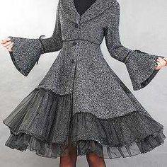 Elengant wollen winter coat by xiaolizi on Etsy from xiaolizi handmade fashion. Saved to Coats & Jackets. Look Fashion, Winter Fashion, Womens Fashion, Fashion Models, Fashion Trends, Pretty Outfits, Beautiful Outfits, Coat Dress, Dress Up