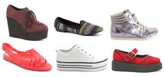 The white ones <3 Tuesday Shoesday 90s fashion footwear trend i owned shoes like all of these...